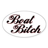 BOAT BITCH Decal