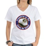 Coton De Tulear Women's V-Neck T-Shirt