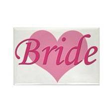 Bride Rectangle Magnet