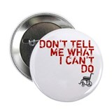 "LOST Don't Tell Me John Locke 2.25"" Button"