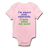 smart and adorable like my aunt Onesie