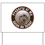 Coton De Tulear Yard Sign