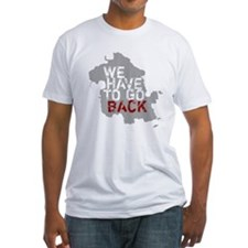 LOST We Have To Go Back Island Fitted T-Shirt