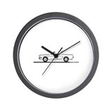 1965 Mustang Convertible Wall Clock
