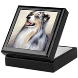 Australian Shepherd 1 Keepsake Box