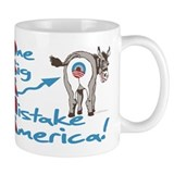 Obama Big Ass Mistake Small Mug