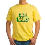 Command S Saves Yellow T-Shirt