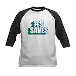 Command S Saves Kids Baseball Jersey