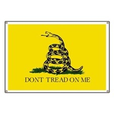 Dont Tread On Me - Gadsden Flag Banner