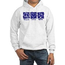 Peace.Love.Music Hoodie Sweatshirt