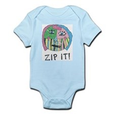 ZIP IT! Infant Bodysuit