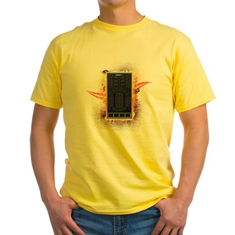 Stanton Graffiti Yellow T-Shirt