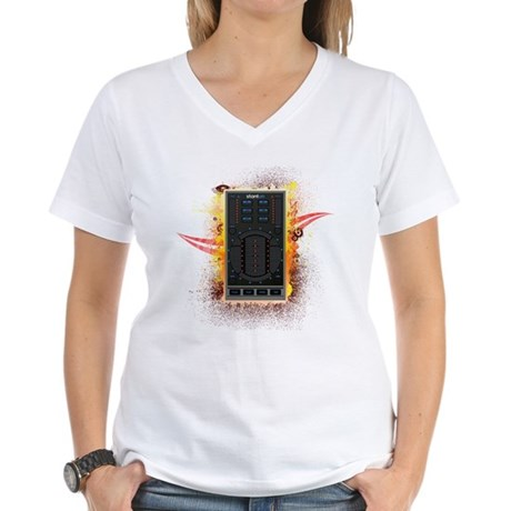 Stanton Graffiti Women's V-Neck T-Shirt