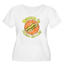 Vintage Bacon is Meat Candy T-Shirt