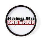 Hang Up And Drive Wall Clock