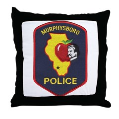 Murphysboro Police Throw Pillow