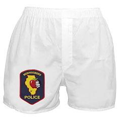 Murphysboro Police Boxer Shorts