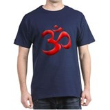 Red Om T-Shirt