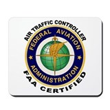 FAA Certified Air Traffic Controller Mousepad
