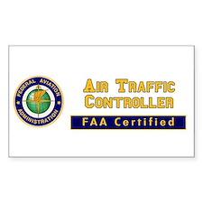 FAA Certified Air Traffic Controller Decal
