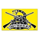 Don't Tread on Me - Rifles Decal