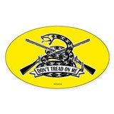Don't Tread on Me - Rifles Bumper Stickers