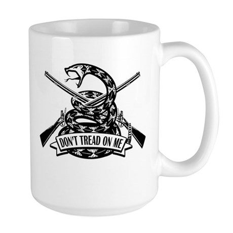 Don't Tread on Me - Rifles Large Mug
