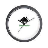 """Daytrader"" Wall Clock"