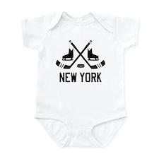 New York Hockey Infant Bodysuit