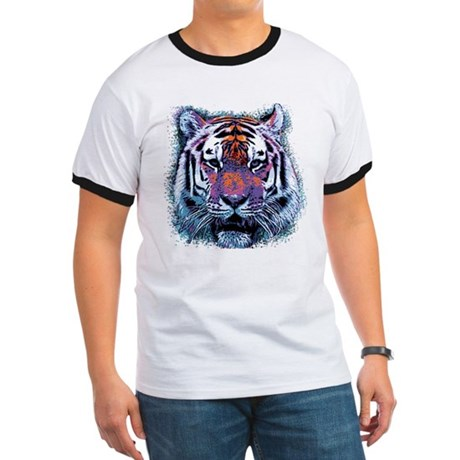 Retro Tiger Ringer T