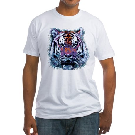 Retro Tiger Fitted T-Shirt