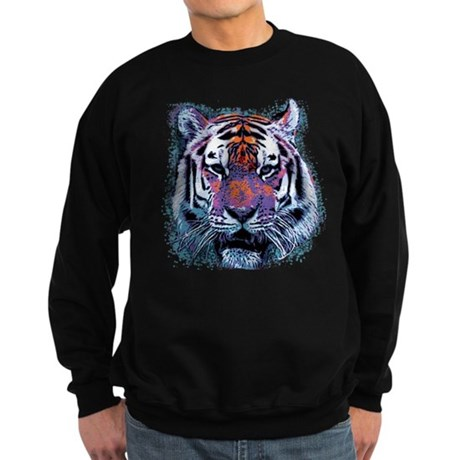 Retro Tiger Dark Sweatshirt