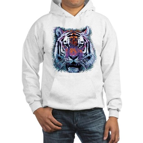 Retro Tiger Hooded Sweatshirt