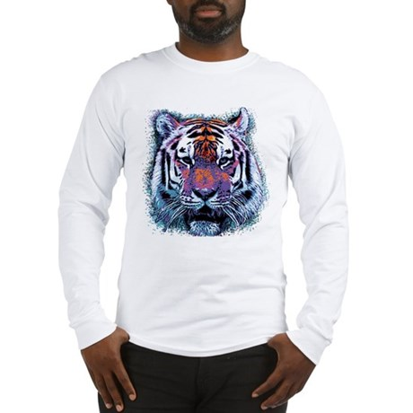 Retro Tiger Long Sleeve T-Shirt