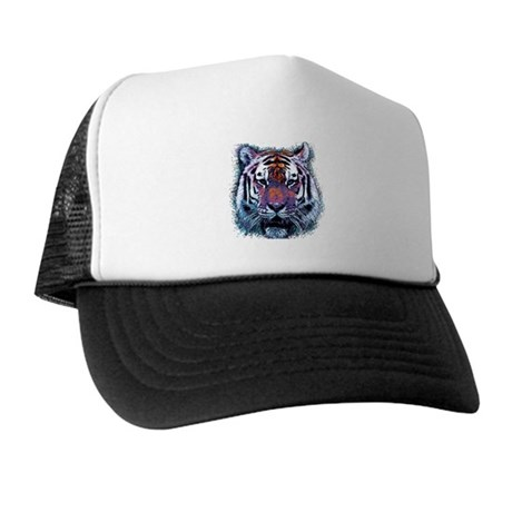 Retro Tiger Trucker Hat