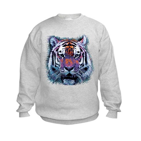 Retro Tiger Kids Sweatshirt