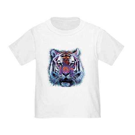Retro Tiger Toddler T-Shirt