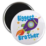 Biggest Brother Rocket Magnet