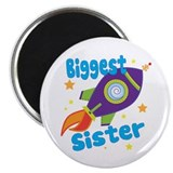 "Biggest Sister Rocket 2.25"" Magnet (100 pack)"