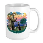 St Francis #2/ Dobie (cropped) Large Mug