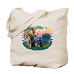 St Francis #2/ Dobie (cropped) Tote Bag