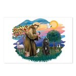 St Francis #2/ Bouvier Postcards (Package of 8)