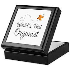 Worlds Best Organist Keepsake Box