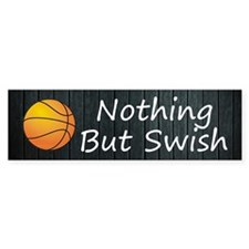 TOP Basketball Swish Bumper Sticker