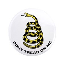 "Dont Tread On Me 3.5"" Button (100 pack)"