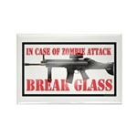 Break Glass Rectangle Magnet (10 pack)