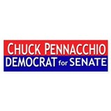 Chuck Pennacchio for Senate Bumper Bumper Sticker