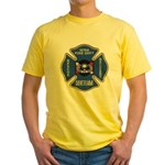 Sitka Fire Dept Dive Team Yellow T-Shirt