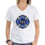 Sitka Fire Dept Dive Team Women's V-Neck T-Shirt