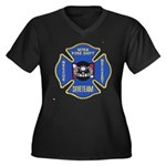 Sitka Fire Dept Dive Team Women's Plus Size V-Neck